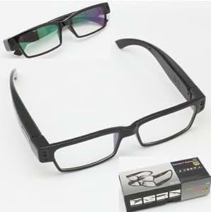 Gadget Advice Full HD 1080 Pixel Full Frame 5.0 Mega Pixels Sexy Glasses Spy Eyewear Camera