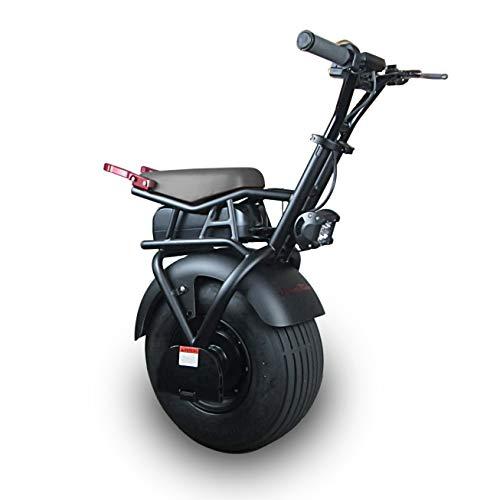 SUPERRIDE S1000 - Patinete eléctrico de una Rueda con neumático de una Sola Grasa y Motor de 1000 W