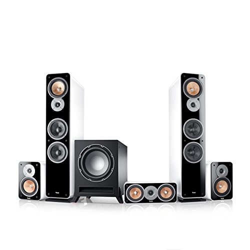 "Teufel Ultima 40 Surround ""5.1-Set\"" Weiß Film Subwoofer Lautsprecher Movie Musik Raumklang Sound Heimkino DTS HD Komplettanlagen 5.1 Soundanlage 3d"