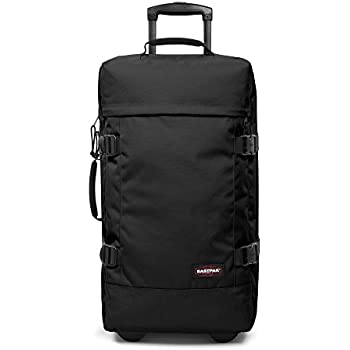 Eastpak Suitcase TRANVERZ M, 78 L, 67 x 35.5 x 30 cm, Black (Old Model)