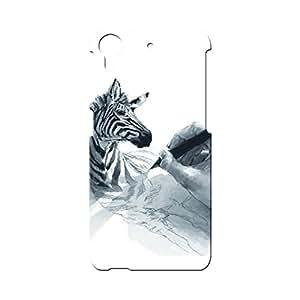BLUEDIO Designer Printed Back case cover for HTC Desire 728 - G6356