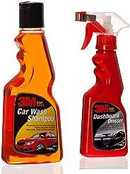 3M Car Shampoo (250ml) & 3M Dashboard Dresser (250ml) Combo