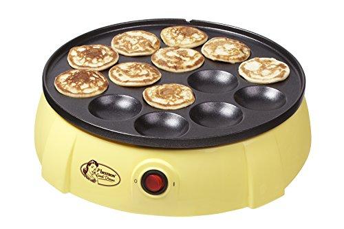 Bestron DLD5009 - Gofrera eléctrica, 650 W, color amarillo