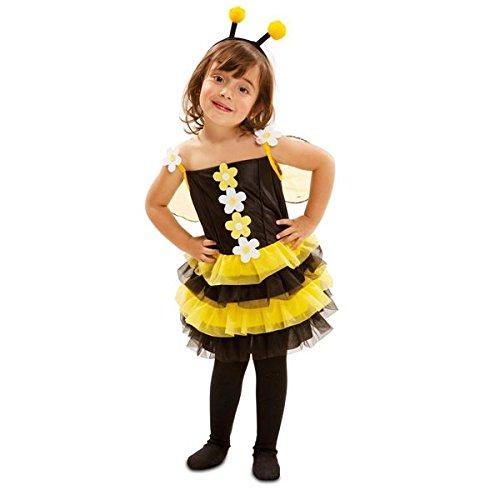 VIVING - Disfraz pequeña abejita 5-6 años