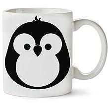 Penguin Mini Size Cute Black Design Tè e Caffè Tazza