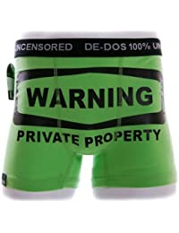 Men's Novelty Boxers 95% Cotton I've got a huge Banana, Addicted to Girls, Long Vehicle, Waring, Small to XXL posted within 24 hours