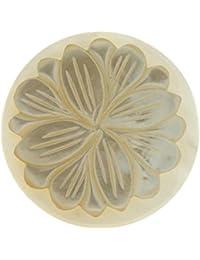 MY girasol insignia nácar iMenso blanco 33 mm 33-0532