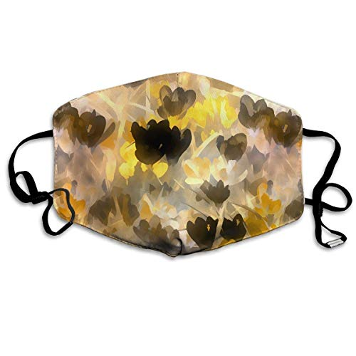 Anti Dust Face Mouth Cover Mask Floral Abstract Pattern Anti Pollution Breath Healthy Mask -