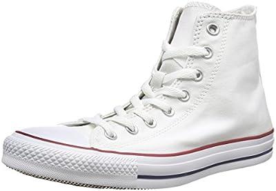 Converse Chuck Taylor Hi - Zapatillas para mujer, color blanco