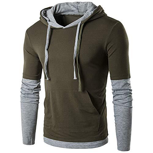 Herren Kapuzen Sweatershirt, JiaMeng Herren Herbst Winter Langarm -