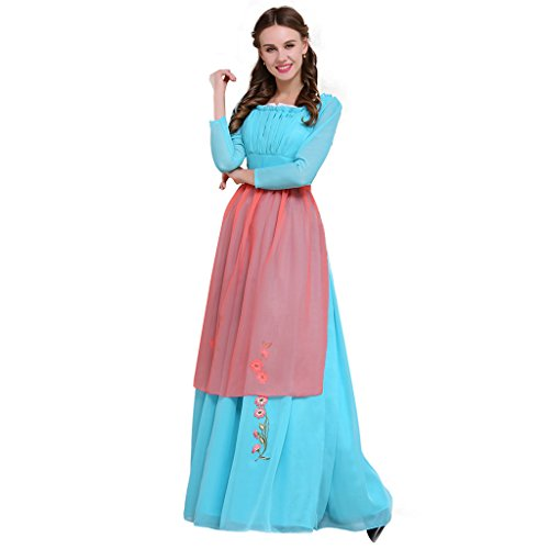Cosplayitem Damen Mittelalterliche Maid Kleid Prinzessin Kostüm Verkleidung Party (Custom Kostüme Maid)