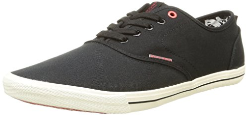 JACK & JONES Jjspider Canvas Sneaker, Herren Sneakers, Schwarz (Anthracite), 46 EU (12 Herren UK)