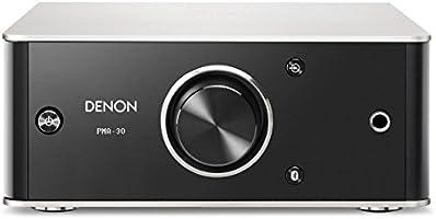 Denon PMA30SPE2 PMA-30 Design Serie volledige versterker (Bluetooth, digitaal/analoog-ingang, 2 x 40W) zwart/aluminium