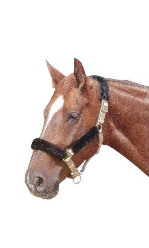 AMKA Halfterschoner 4 teiliges Set |Nasenflausch Halfterset | Genickschoner Nasenschoner für Pferde