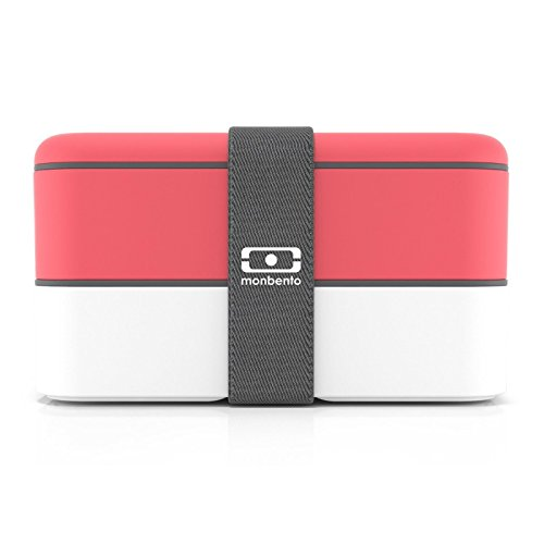 Monbento MB Original Corail - The bento box, Lunchbox mit 2 Behältern -