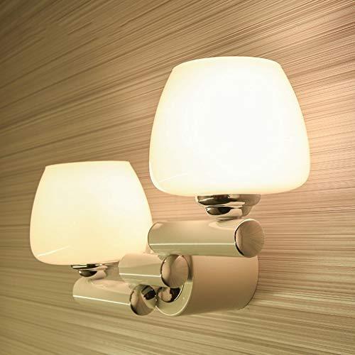 Wandleuchte LED Schlafzimmer Nachttischlampe Moderne Bügeleisen Balkon Gang Treppe Glas Lampe Licht