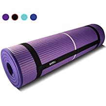 UMI. Essentials Tapis de Yoga antidérapant, Yoga Mat,NBR Matériel, Tapis de Fitness, Tapis de Sport, Tapis de Gym