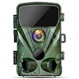 TOGUARD Wildlife Camera 20MP 1080P Trail Game Cameras with Night Vision 130° Detection