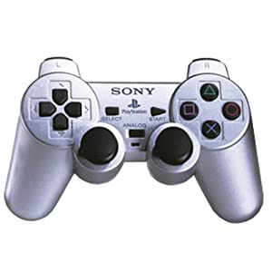 Playstation 2 – Controller Dual Shock silber
