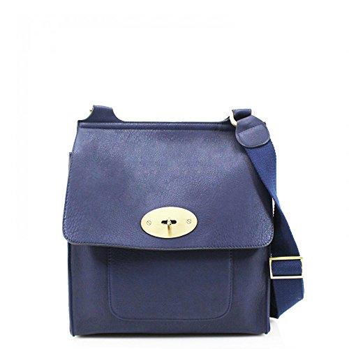 Da donna Fashion Design alla moda Ecopelle di Qualità Celebrity Hot vendita Tracolla Messenger Cross Body Bag cws00429 Marina Militare H30cm x W27cm x D9cm