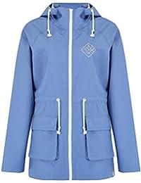 Animal Dusty Blue Byron Womens Water Resistant Jacket