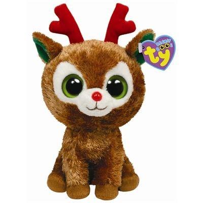 """Beanie Boo Christmas Reindeer - Comet - 15cm 6"""""""