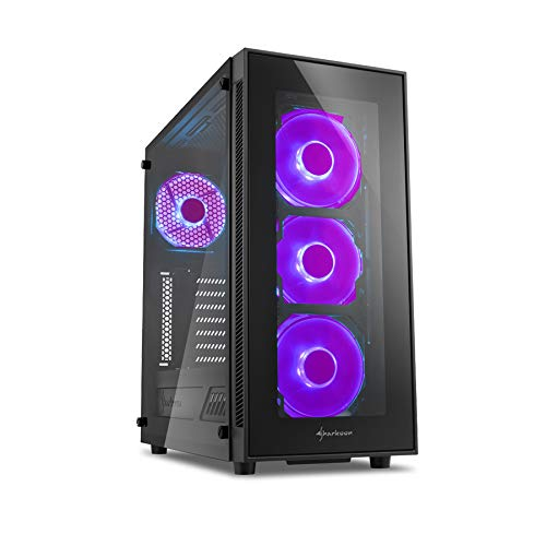 Sedatech Expert Gaming PC AMD Ryzen 5 2600X 6X 3.6GHz, Geforce GTX1660Ti 6Gb, 16GB RAM DDR4, 250GB SSD M.2, 2TB HDD, USB 3.1, WLAN. Rechner ohne OS (200 Geforce)