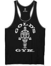 Golds Gym Herren Unterhemd Muscle Joe Contrast Stringer Vest