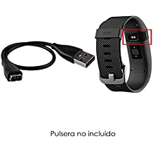 ABC Products® reemplazo Fitbit / Fit Bit Cable USB / Cargador de batería / Carga para Fitbit Charge HR Pulsera de actividad física / Wireless Activity Wristband Bracelet Band Heart Rate Watch
