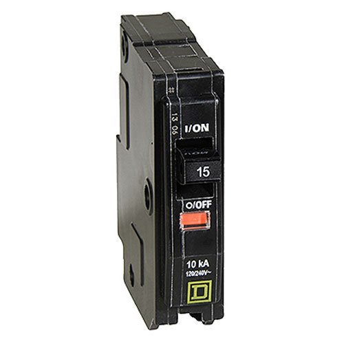 Your One Source QO115CP 15-Amp 1-Pole Plug-On Circuit Breaker by QO Square D Circuit Breaker