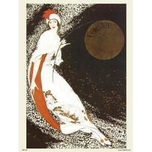onthewall Vogue Vintage-Poster PDP 019, Pop Art, Motiv Milchstraße Cover