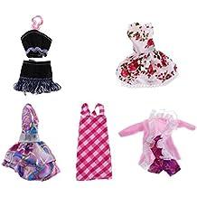 Gazechimp 5 Set Fashionistas Ballkleid Abendkleid Kleidung Kleider Anzug für Monster High Puppe