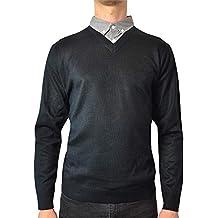 Suchergebnis Auf Amazon De Fur Pullover Mit Hemdkragen