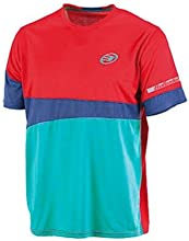 Bullpadel Blued - Camiseta para hombre, color rojo