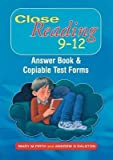 Telecharger Livres Close Reading 9 12 Answer Book and Copiable Test Forms By Mary M Firth published March 2006 (PDF,EPUB,MOBI) gratuits en Francaise