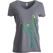 Diseño con Cactus Saguaro - Camiseta para Mujer con 817ffc53472b0