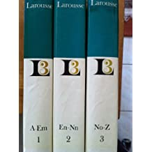 encyclopedie larousse en 3 volumes