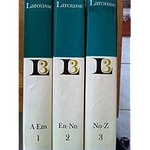 encyclopedie larousse 3 volumes