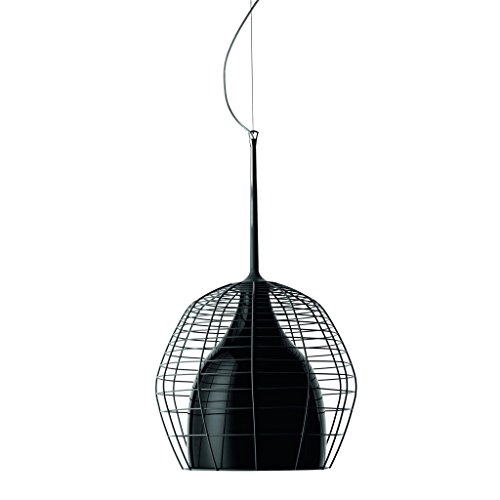 Diesel With Foscarini Cage Grand Lampe Suspendue Noire/Noire