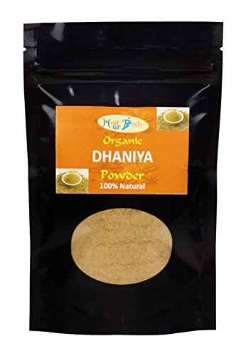 HEALURBODY Dhaniya (coriander) Powder Organic - 100 gm  available at amazon for Rs.87