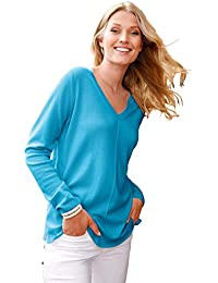 ac9e6aa8a5b452 include Damen V-Pullover V-Pullover aus edlem Kaschmir Schlitz