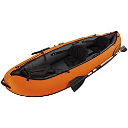 Bestway Hydro-Force Ventura 330 x 94 x 48 cm, kayak gonflable 2 places avec 2 pagaies en aluminium