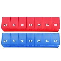 com-four® 2X - Medikamenten-Box für