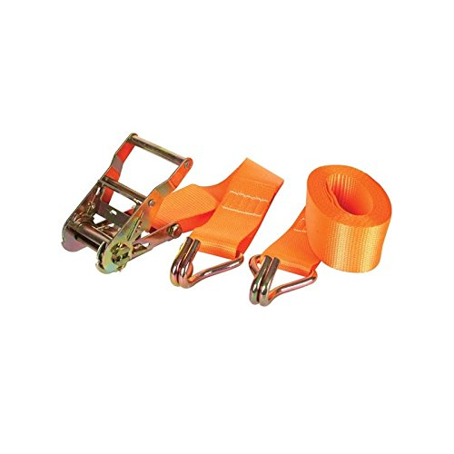 Perel arat3 Sangle avec tendeur à cliquet et crochet, charge maximum : 1000 kg, 4.5 m x 50 mm Dimensions