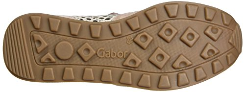 Gabor Shoes Comfort, Scarpe da Ginnastica Basse Donna Rosa (rose/rame 18)