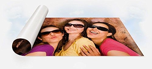 Carta fotografica adesiva lucida 25 Fogli A4 stampa laser