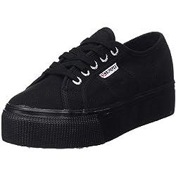 Superga 2790 Acotw Linea Up and Down, Sneaker Donna, Nero (996), 38 EU (5 UK)