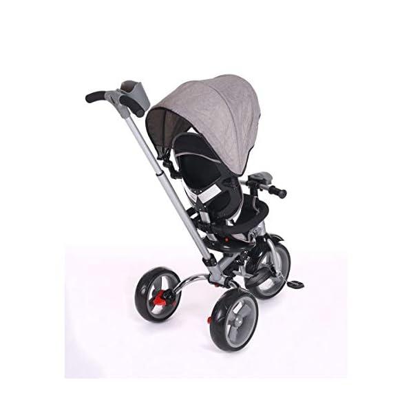 Kikka Boo 31006020043 Sports Trolley Kikka Boo KIKKA BOO strollers and strollers Sports prams and strollers for unisex children. Nikki Tricycle Melagne Grey (31006020043) 5