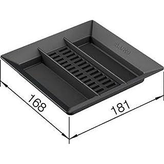 BLANCO AktivBio Deckel für 6 Liter Eimer/Kunststoff/Anthrazit