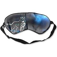Schlafmaske, Schlafmaske, Set mit coolem Wolf-Augenschutz für Damen und Herren, bequem, tiefe Augenmasken, leicht... preisvergleich bei billige-tabletten.eu